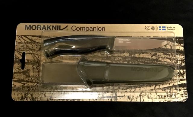 黒 モーラ 錆 加工 ナイフ